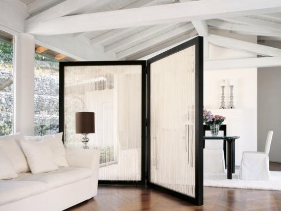 room dividers How to lighten a dark room