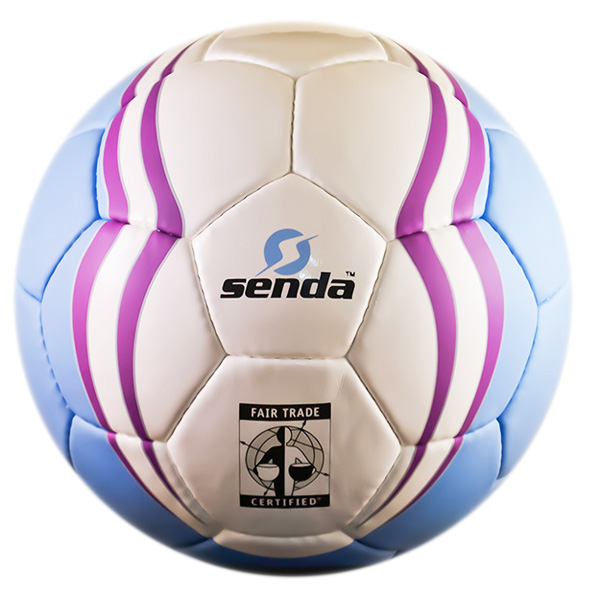 sendaball3 Hand Stitched Soccer Balls Support Fair Wage Workers and Youth Development