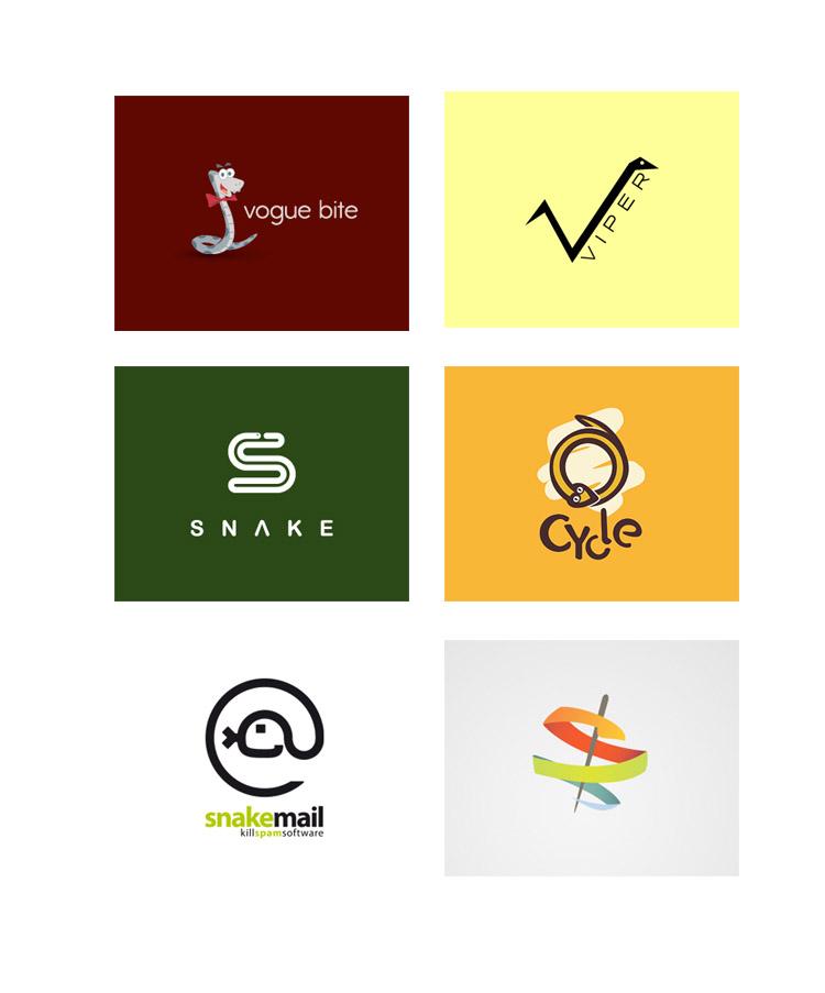 snake logo 30 Snake Logo Design Inspiration