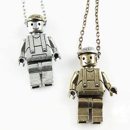 tumblr mcelfna0691qiqf01o1 500 Vintage Metal LEGO Necklace