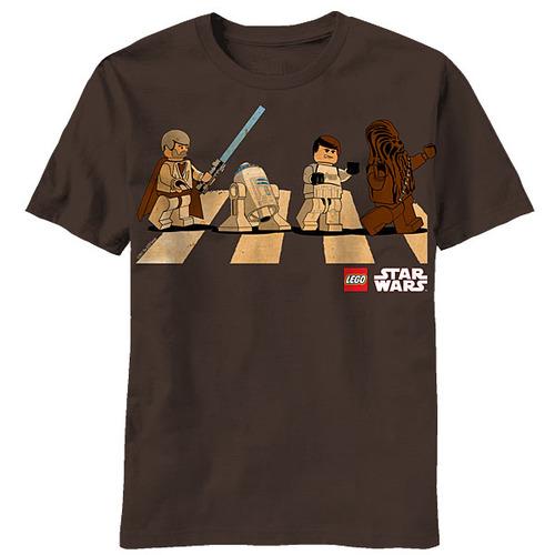 tumblr me4a5cRuEy1qiqf01o1 500 Star Wars Lego Abbey Road T Shirt