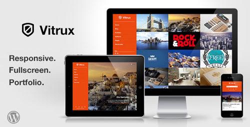 vitrux responsive wordpress theme 40 High Quality Responsive Retina Display Ready WordPress Themes