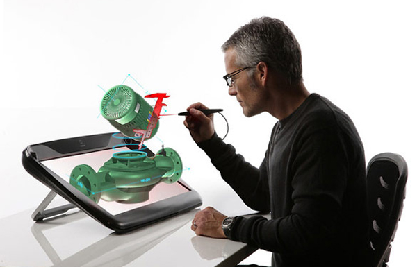 Virtual Holographic Display Tool for Designers