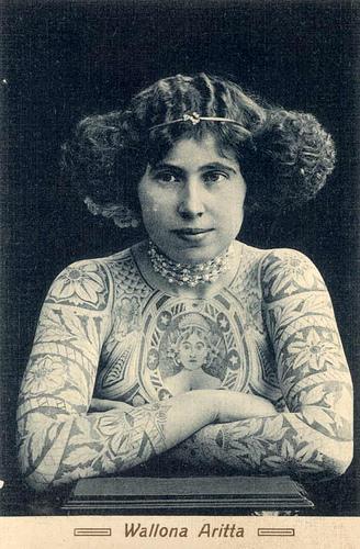 1 Wallona Aritta Tattoos in Australia from between c.1857 & c.1948