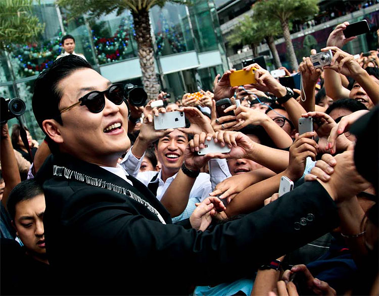 13 PSY in Thailand