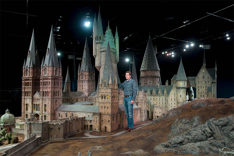 218 Model of Hogwarts Castle