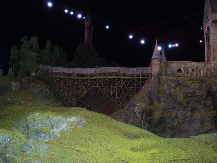 412 Model of Hogwarts Castle