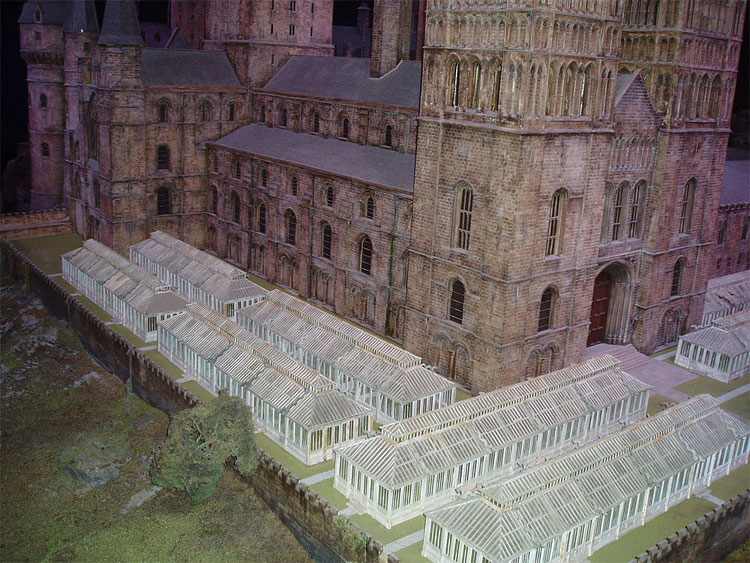 511 Model of Hogwarts Castle
