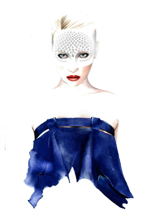 Antonio Soares Fashion Illustrations 2 Antonio Soares