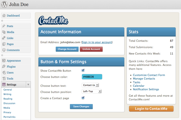 Contact Form Plugins for WordPress2 Free WordPress Contact Form Plugins