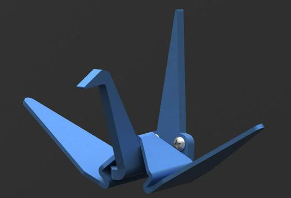 CraneHook01a1 Origami Crane Hook