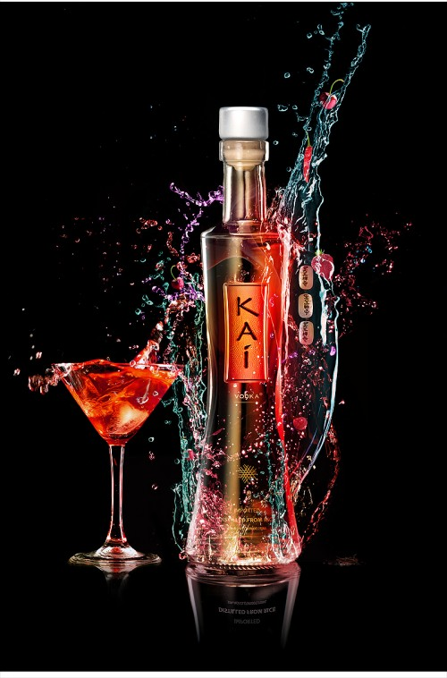 Create a Vibrant Colorful Alcohol Product Ad in Photoshop Photoshop Tutorials Water Effects