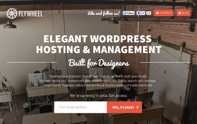 Flywheel2 650x410 30 Creative WordPress Website Designs