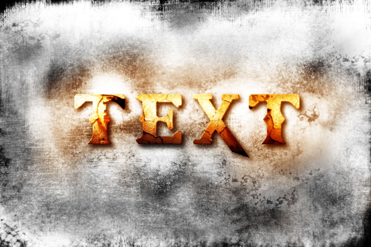 Gold Text Beautiful PhotoShop Text Effects