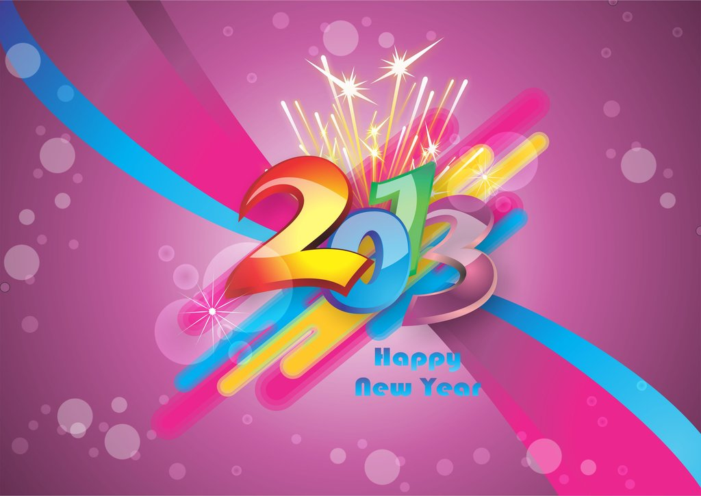 HAPPY NEW YEAR 2013 Happy New Year 2013 From Design You Trust
