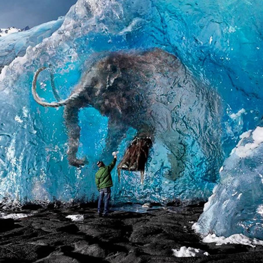 Ice Age Sunday Gift, Amazing Photos From The World | Hard To Believe