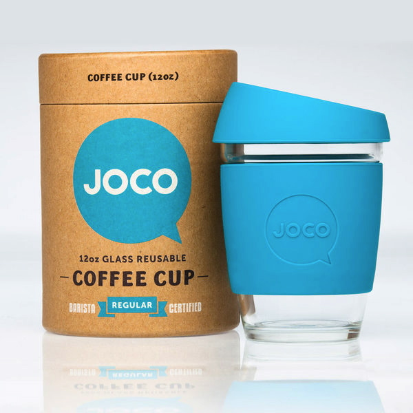 JOCOblue Design from Down Under: Australian JOCO Cups Save Billions of Paper Coffee Cups