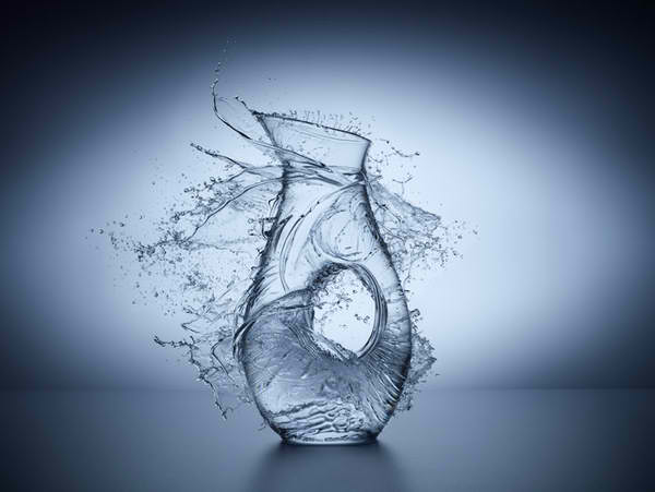 Liquid Glass 3 Transparent Water Photography By Jean