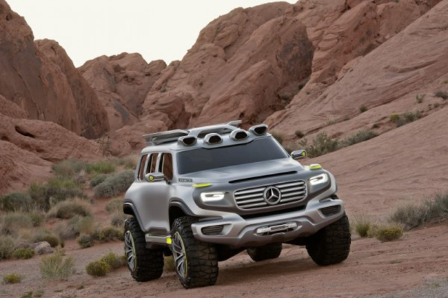 Mercedes Benz G Force 2 Mercedes Benz G Force Concept Design