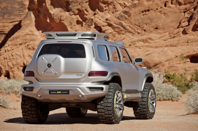 Mercedes Benz G Force 6 Mercedes Benz G Force Concept Design