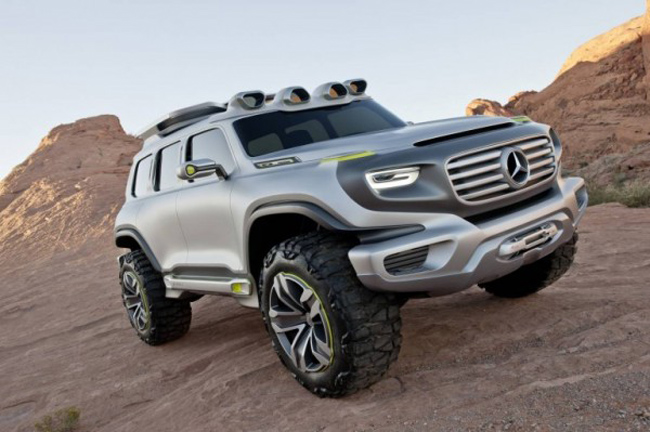 Mercedes Benz G Force 8 Mercedes Benz G Force Concept Design