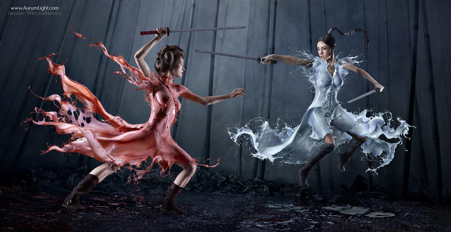 Milky Dress 1 Amazing Milky Dresses By Jaroslav Wieczorkiewicz