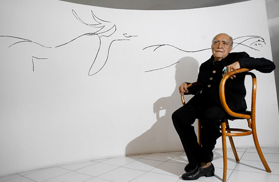 Niemeyer Oscar Niemeyer died at age 104