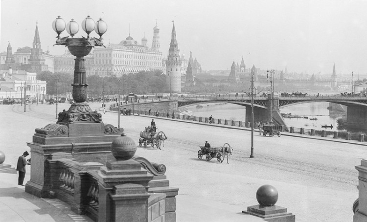 Photos of Moscow Before the Revolution 1 750x454 Black & White Photos of Moscow Before the Revolution