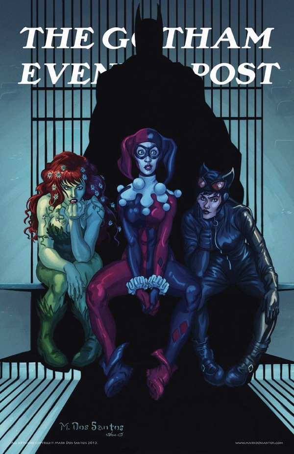 Rockwells Gotham City Ladies Rockwell's Gotham City