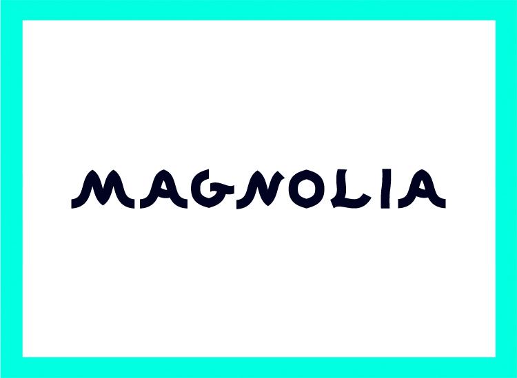 Thumbnail logo Magnolia Typeface (MAAN)