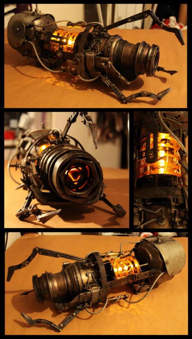 aperture steampunk handheld portal device by batman n bananas d4fcozq 650x1146 Epic Steampunk Art