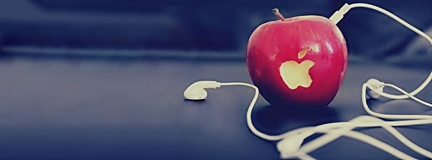 apple bit music fb timeline cover3 Awesome Facebook Covers For Your Beautiful Facebook Profile