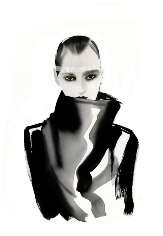 f 14 Awesome Fashion Illustrations by Cacilia Carlstedt