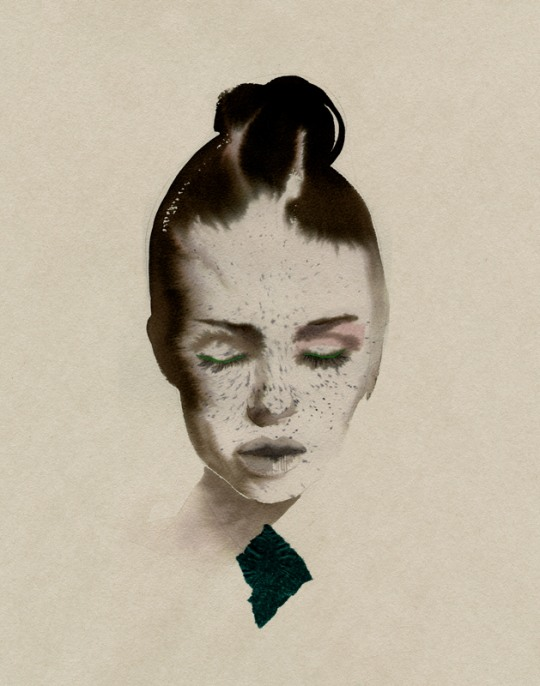 f 34 Awesome Fashion Illustrations by Cacilia Carlstedt