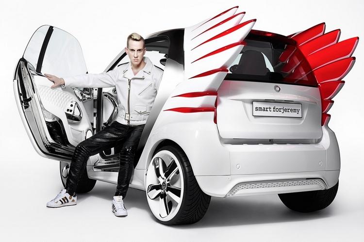 Jeremy Scott designed Custom Smart ForTwo