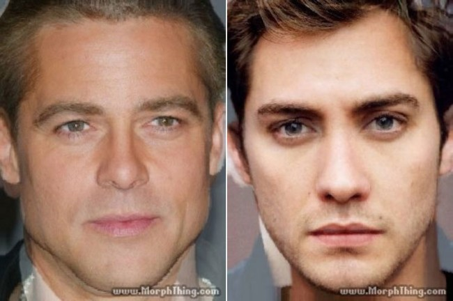 morphthing 01 650x432 Morphed Celebrity