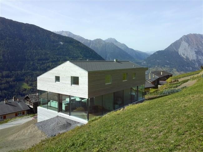 p 130 650x487 Val d'Entremont House by Savioz Fabrizzi Architectes