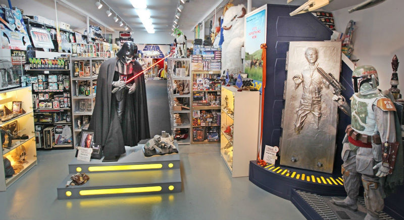 rancho obiwan star wars memorabilia Video Tour of Rancho Obi Wan: World's Biggest Star Wars Memorabilia Vault