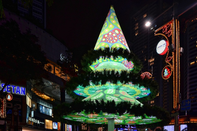 singapore World Top Ten Christmas Trees of 2012