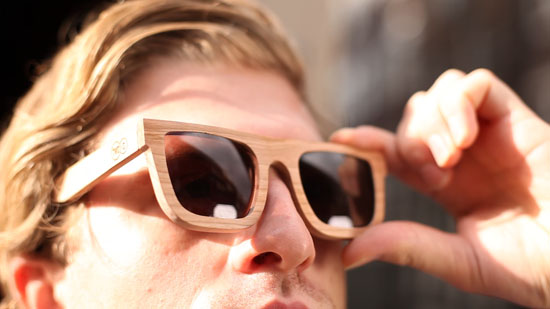 Wooden Sunglasses by TWO O