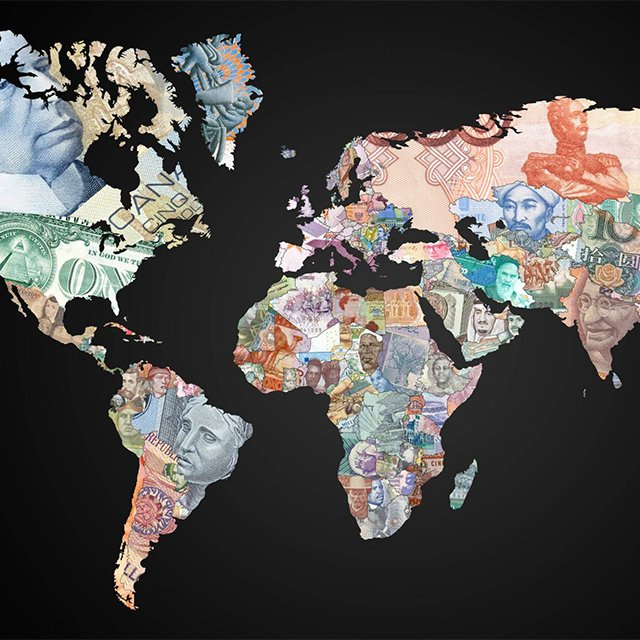 154311833946163741 838bcc2463a3 The World Map of Currencies