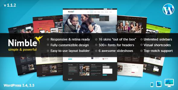 20 Retina Ready WordPress Themes you Should check 20 Retina Ready WordPress Themes you Should see