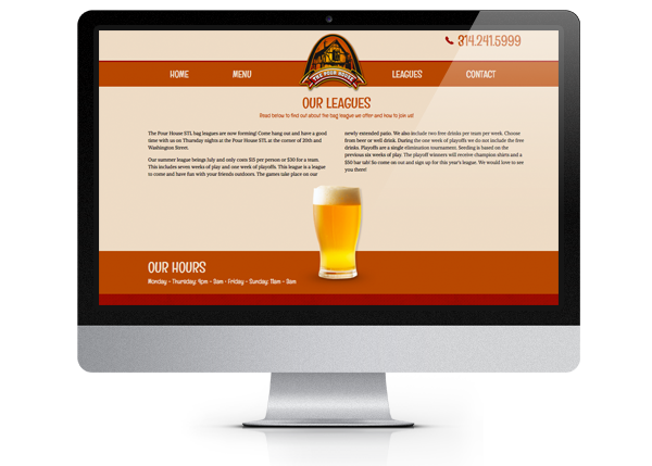 7b35baca8994407b9f63eaa8ae6d33c0 The Pour House STL web design