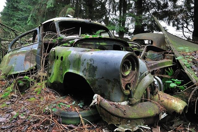 Car Cemetery 972 Car Cemetery in Belgium