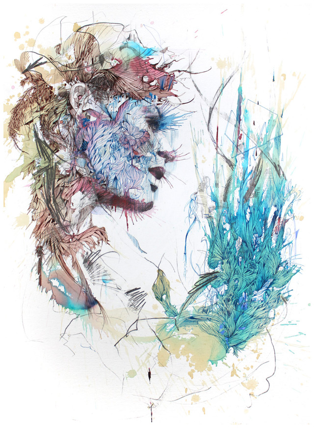 Carne 2 New Portraits from Carne Griffiths