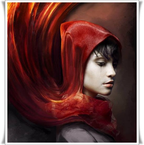 Create a Red Riding Hood Themed Photo Manipulation Photo Manipulation Tutorials