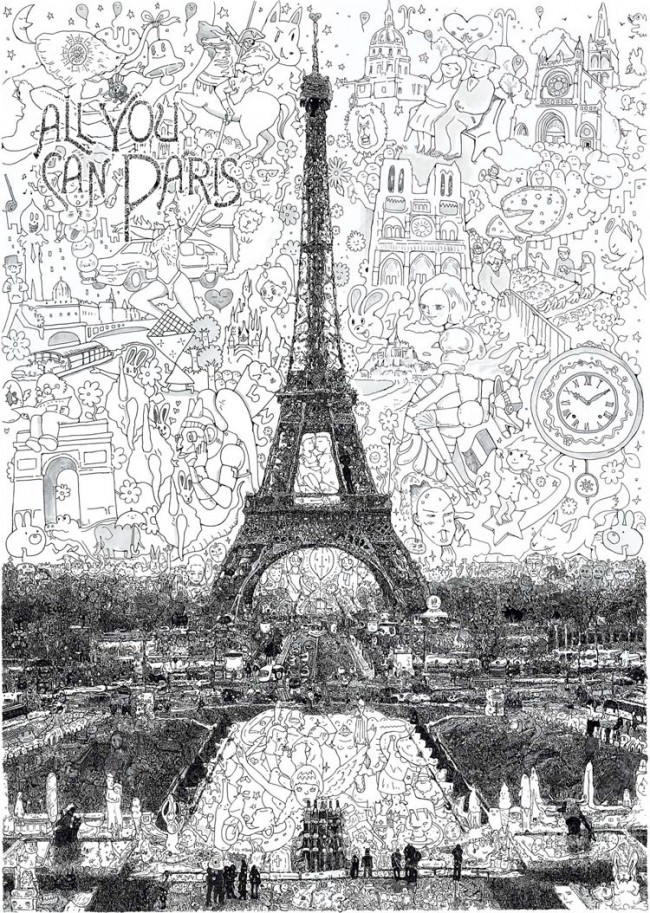 DYT Sagaki Keita 1 650x913 Artist   Impressive drawings by Sagaki Keita