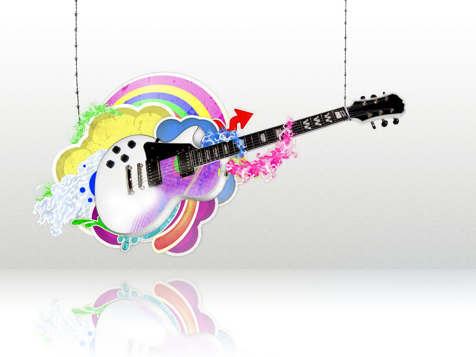 Funny Guitar Funny Backgrounds