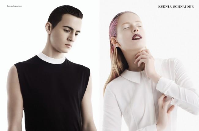 KS SS13 Spread4 650x429 Ksenia Schnaider campaign