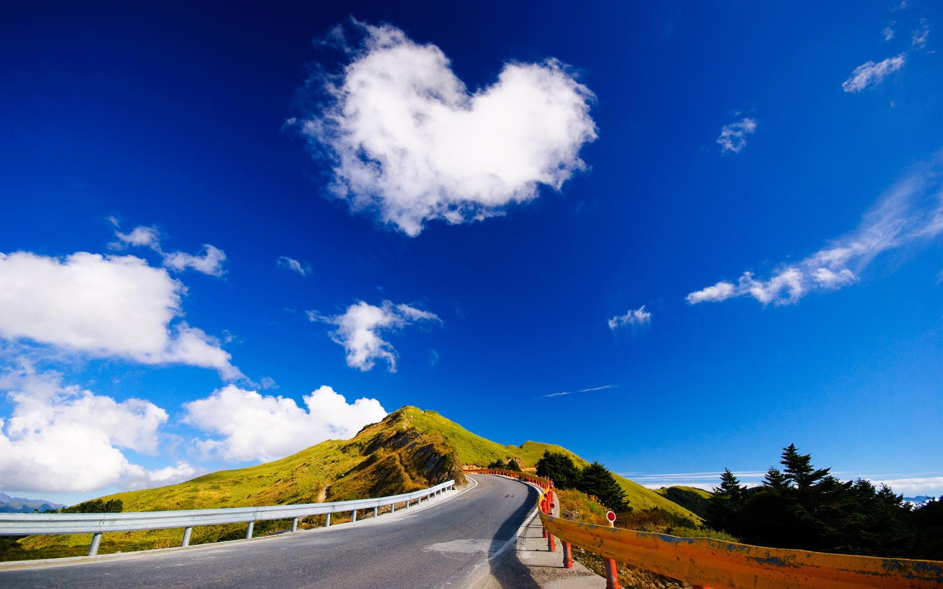 LOVE CLOUD MOUNTAIN Beautiful Valentines Day Love Pictures